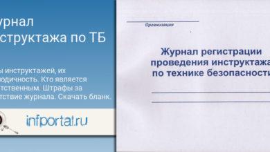 Photo of Журнал инструктажа по технике безопасности