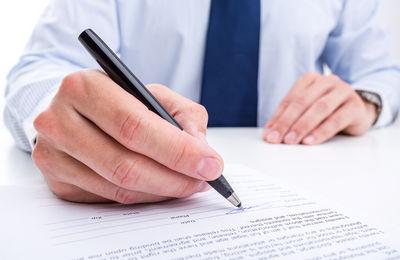 Образец доверенности на печать и подпись