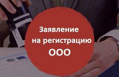 Photo of Заявление на регистрацию ООО, форма Р11001