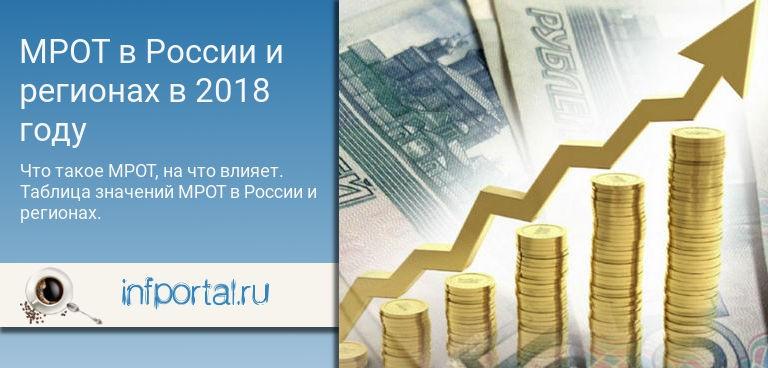 Новый МРОТ с 1 мая 2019 года в России по регионам: таблица